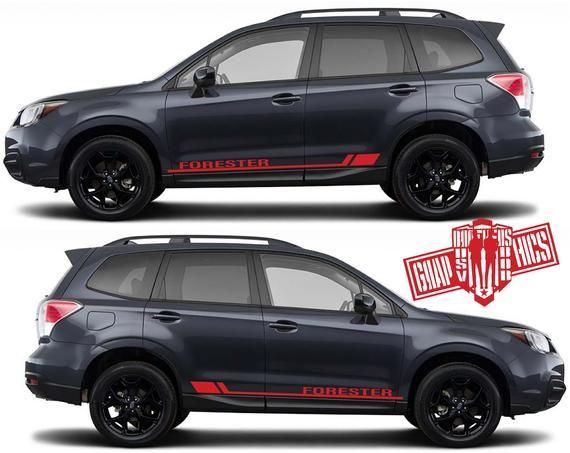 NISSAN 2x Side Stickers Car Decals Graphics DEFAULT BLACK