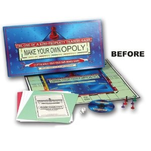 65 best making your own games images on pinterest activities make your own opoly board game by tdc games solutioingenieria Images