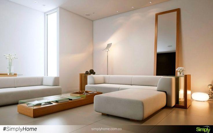 Las figuras geométricas dan orden a cada espacio en particular. #SimplyHome #SimplyHomeCol #Simply #Home #Decoracion