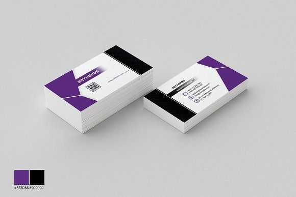 Business Card Template 15 by BdThemes on @creativemarket