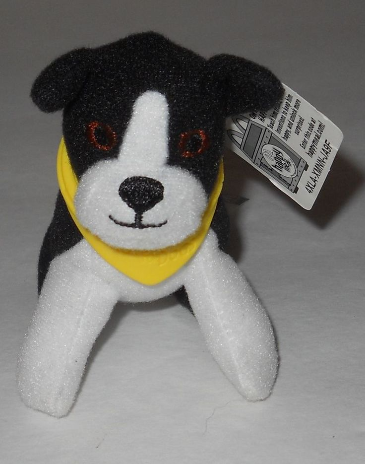 "McDonalds HOTEL FOR DOGS Happy Meal Plush Toy GEORGIA 3"" with Tag 2009 #McDonalds"