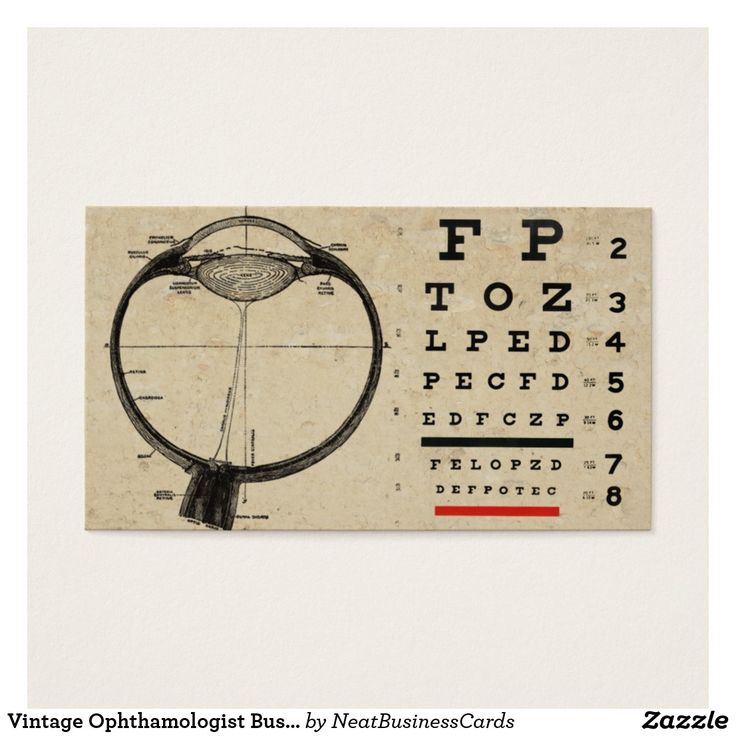 21 best Optometrist Ophthalmologist Eye Doctor Business Cards ...