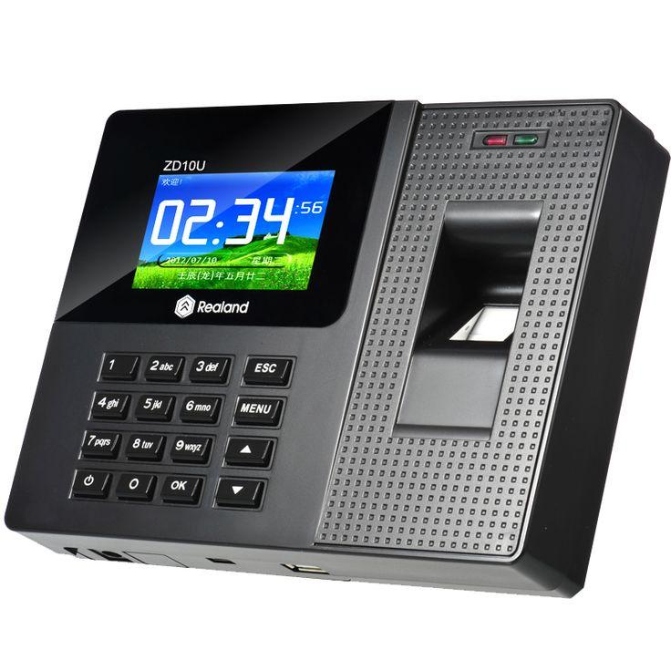 Livraison Gratuite A-C011 Autonome Temps et de présence terminal TCP/IP fréquentation à temps d'empreintes digitales enregistreur temps horloge