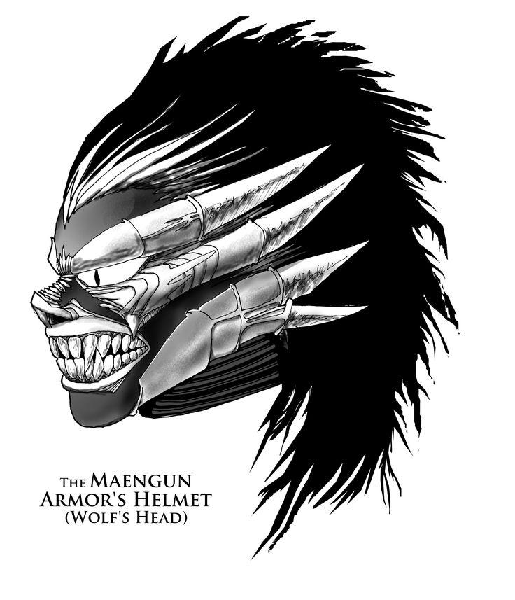 The Maengun Armor's Helmet (Wolf's Head)