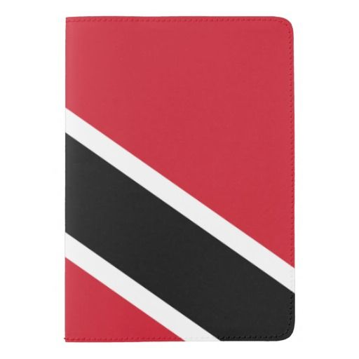 Trindadian and Tobagonian (Trinbagonian) flag Passport Holder