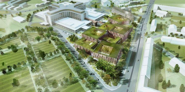 Helsingborg Hospital Extension Winning Proposal / Schmidt Hammer Lassen Architects