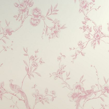 Opera Chinoise Wallpaper - Pink