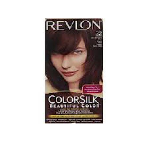 Revlon Revlon c silk tinte 3rb mahoga brown Tinte de larga duración, que deja tu cabello en mejores condiciones,le da la apariencia natural, incluso el color de la raíz a la punta, el cabello se ve más sedoso, brillante y saludable que antes de tinturar.