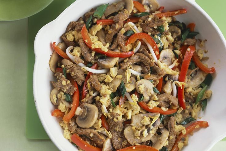 A famous dish from northern China, moo shu pork is easy to make in your home kitchen so you don't have to waste money on delivery food.