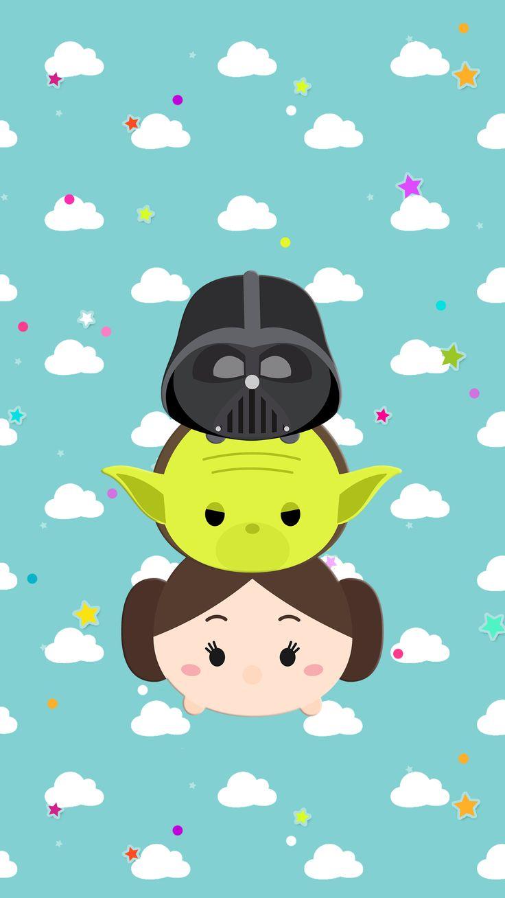 Wallpaper iphone stitch - Star Wars Tsum Tsum Wallpaper