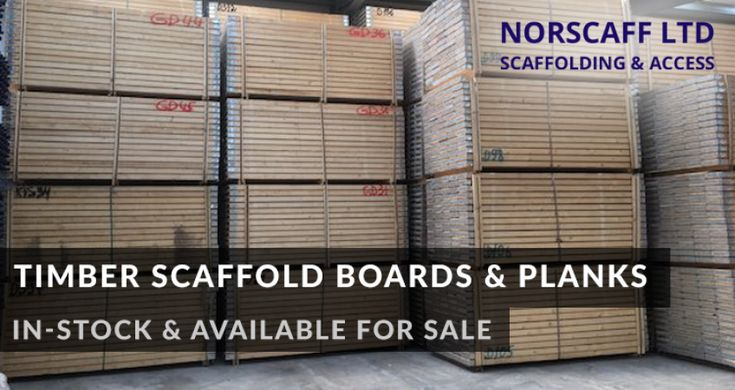 Norscaff Belfast, Dublin and Dungannon now have in-stock and available for sale, timber scaffold boards and planks.