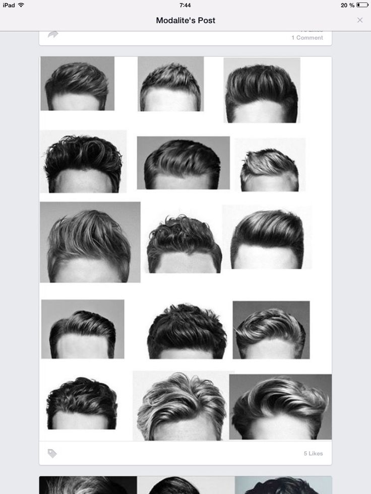 List Of Hairstyle For Men Unique Names Home
