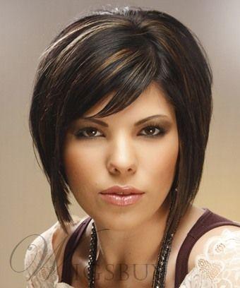 100% Human Hair Capless Wig 10 Inches Straight Stylish
