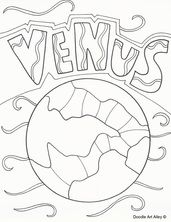 solar system coloring pages!