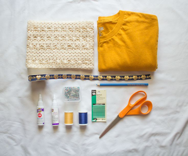 This easy fashion tutorial for making a DIY kimono from a t-shirt will give you a new clothing piece for your wardrobe in under an hour, and on the cheap!