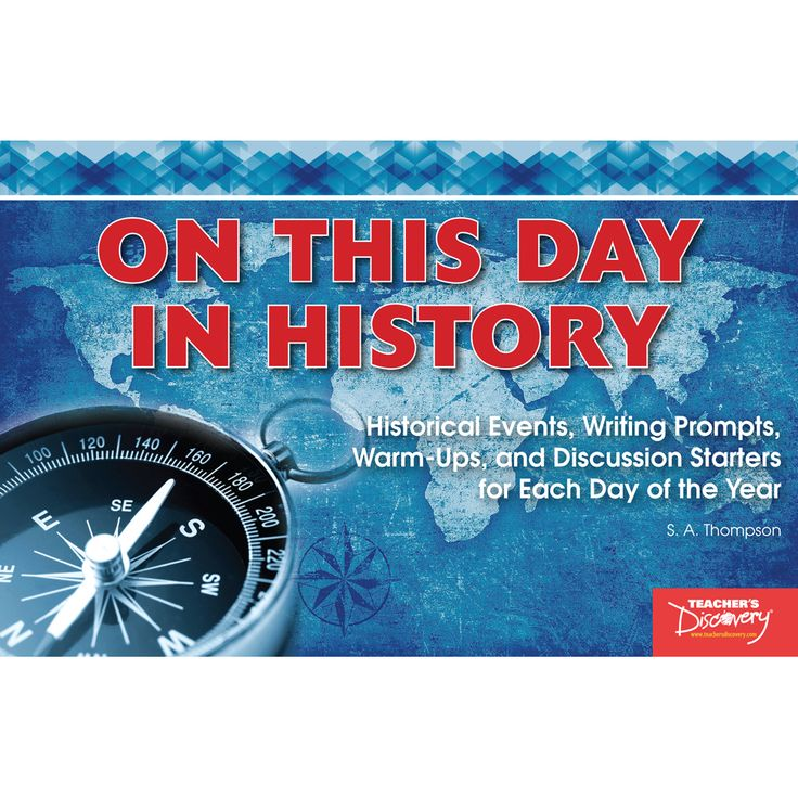 On This Day in History  provides awesome historical writing prompts, ice breakers, and discussion starters for each day of the year! Each entry gives students a notable event or achievement from history, along with a short description and two differentiated close reading questions. These daily entries are a quick way to have students analyze history and connect historical events to current events. Read entries aloud or project them for the class to do independently. With 365 entries, you…