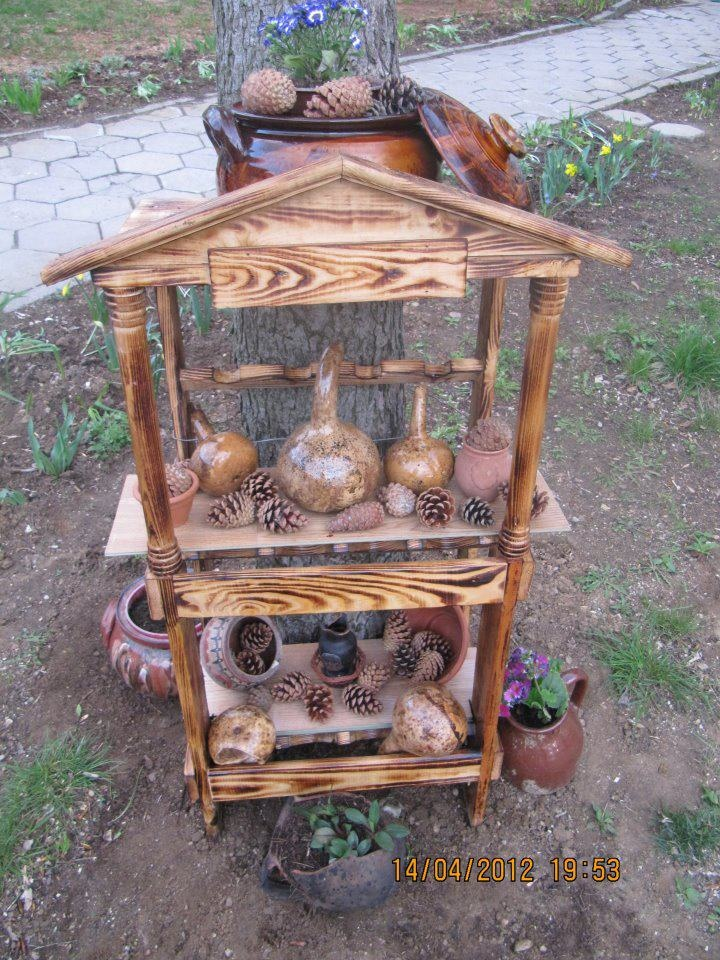 .........Crafts Ideas, Outdoor Buildings, Gourds Projects, Outdoor Spaces