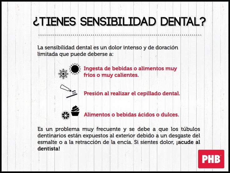 ¿Tienes sensibilidad dental?