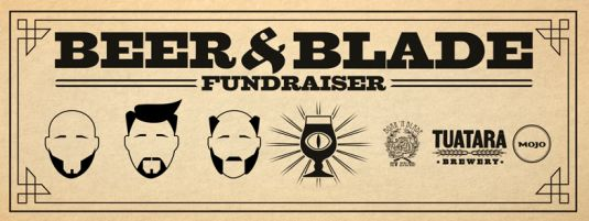 Boar and Blade Fundraiser - Mojo Coffee, who got the last of the coffee beans from Tanna Coffee before Cyclone Pam hit, teamed up with Tuatara and have made the new Vanuatu Coffee Porter. Not only can you get your lips around a tasty porter, perfectly matched by the weather we are having, you can also get your haircut/beard trimmed by the guys from Boar & Blade AND you can be an awesome human and donate $$ to the coffee growers of Vanuatu to help them get them back on their feet.