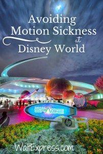 Top 5 Tips for Avoiding Motion Sickness at Disney World! #DisneyWorld #Disney