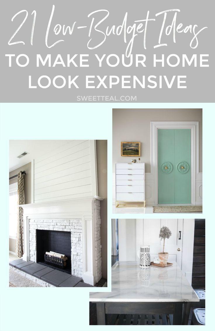 21 Low Budget Ideas To Make Your Home Look Like A Million Bucks