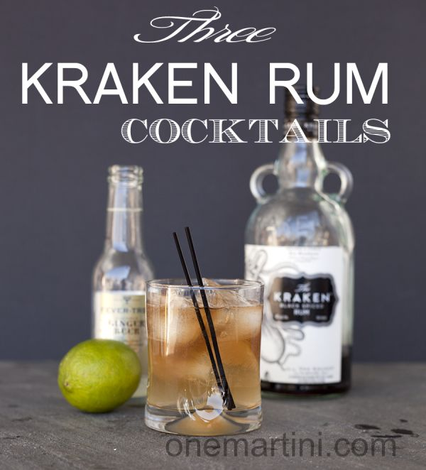 Respect the sea with these 3 Kraken Rum Cocktails