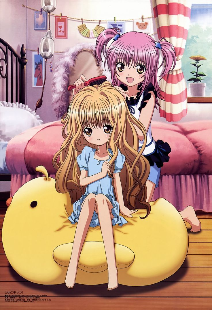 Shugo Chara (I'm going to categorize her as a magical girl...)