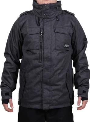 686 Reserved M-65 Jacket (Closeout) - black denim - Snowboard Shop > Men's Snowboard Outerwear > Snowboard Jackets > Shell Snowboard Jackets