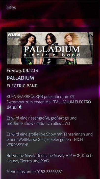 MORGEN!!!! Palladium Electric #Band  #Club #KUFA Saarbruecken!!! MORGEN!!!! Palladium Electric #Band  #Club #KUFA Saarbruecken!!!  #Link #zum #schwarzen Brett:  MORGEN!!!! Palladium Electric #Band  #Club #KUFA Saarbruecken!!! | #Kleinanzeigen #Saarbruecken / #Saarland http://saar.city/?p=34819