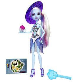 Mattel, Monster High, Upiorni Plażowicze, Abbey Bominable, lalka