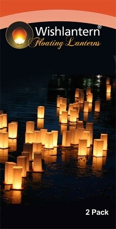 Floating Wish Lanterns (2 Pack)