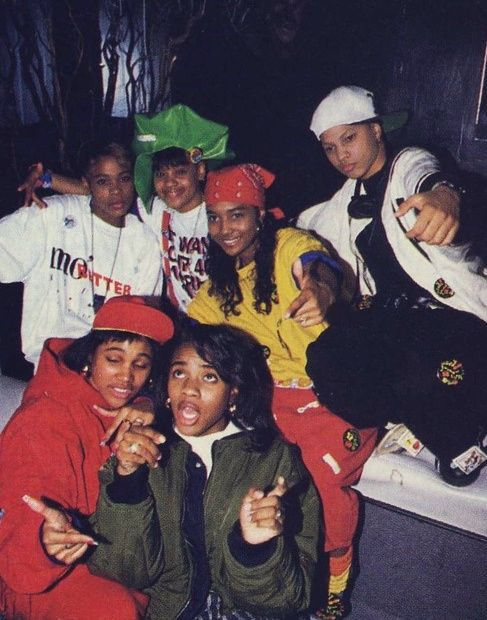 Monie Love, MC Lyte & TLC Wonderful time for Hip-Hop and women in Hip-Hop.