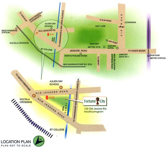Fortune City is situated just a few minutes from Jessore Road