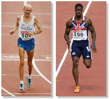 Marathoner vs Sprinter. - Unfortunately, most traditional cardio and strength training exercises work only red muscle fibers, completely missing your white muscle fibers, which then atrophy. If your fitness routine doesn't work your white muscle, you aren't really working your heart in the most beneficial way. MIX IT UP!!! Distance/Sprints/Burst training/Weight Training/Yoga. That way you're working ALL muscle fibers for the best overall health benefits & a super speedy metabolism! ;)