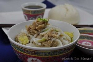 Domestic Diva: Chinese Style Easy Chicken Noodles