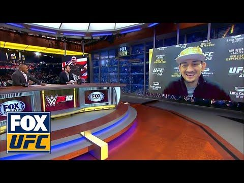 MMA Max Holloway talks about his upcoming fight with Jose Aldo | UFC Tonight