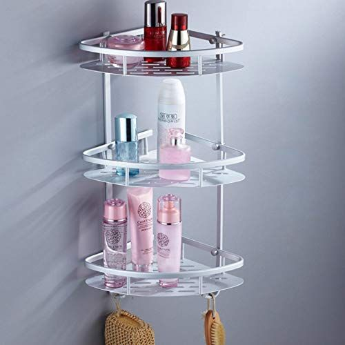 Annatto Shower Corner Caddy Bathroom Storage Basket No Drilling Heavy Duty And Durable Shower Corner Shelf Bathroom Basket Storage Amazing Bathrooms