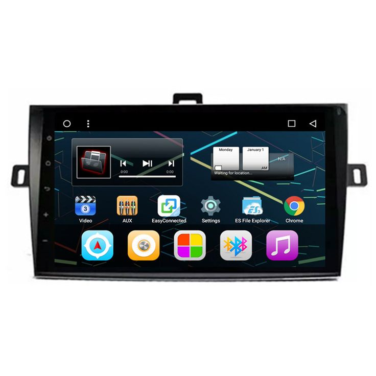 "9"" Android Autoradio Car Stereo Multimedia GPS Navigation DVD Radio Audio Head Unit Toyota Corolla 2006 2007 2008 2009 2010"