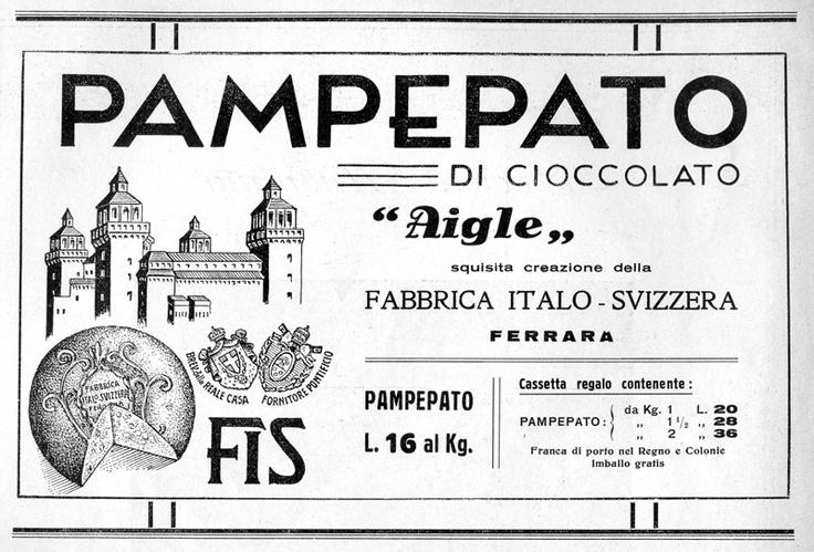 Pubblicità pampepato (1935).