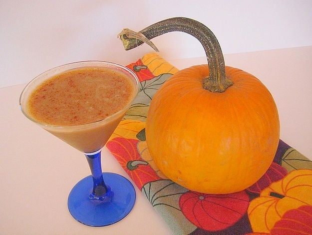 Pumpkin Pie In A Glass (With Booze)