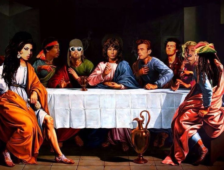 27 clubs last supper jim morrison the doors pinterest last supper and suppers. Black Bedroom Furniture Sets. Home Design Ideas