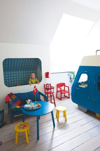 Built-In Beds for Kids. Cool.
