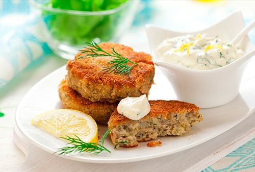 This fishcakes recipe is a good way to work fish into your weekly meal plan. It's quick and easy to make, and children are likely to enjoy it.