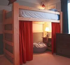 Image result for diy adult loft bed for low ceilings