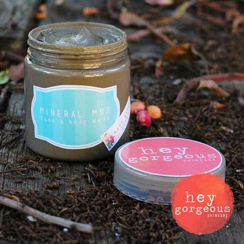 Mineral Mud Face & Body Mask | Hey Gorgeous