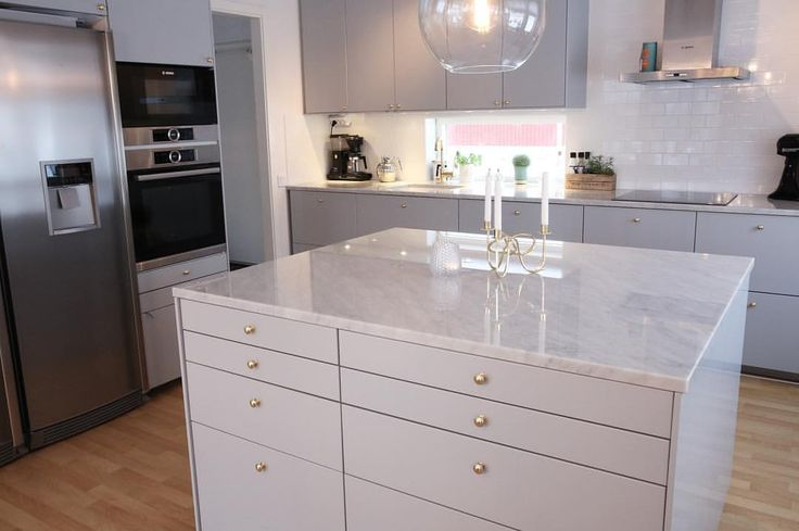 Målbild: städat kök utan clutter