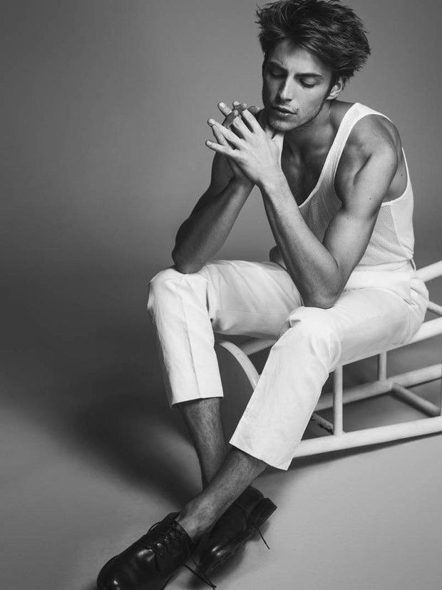 Model Timothee Bertoni stars in The New Debonair story captured by fashion photographer Rodolfo Martinez for DA MAN Magazine's latest edition. In charge of styling was Paul Frederick.