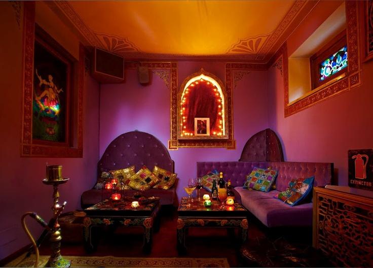 ramayana cafe interior bohemian decor pinterest cafes interiors and bohemian decor - Purple Cafe Ideas