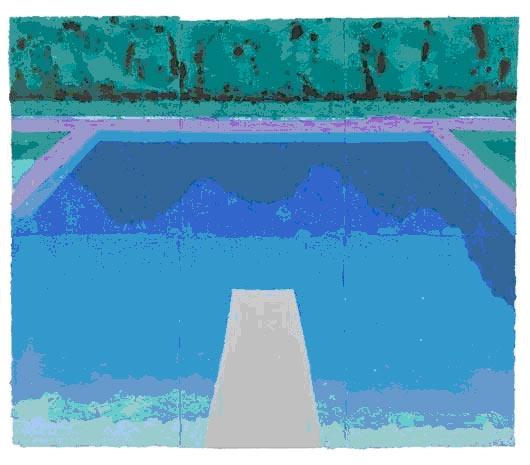 David Hockney - Autumn Pool 1978