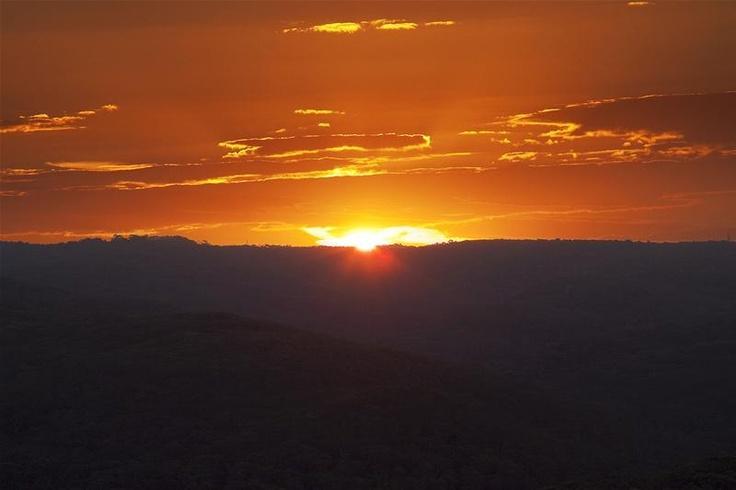 Elanora House: sunset view.